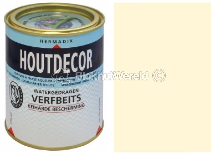 Gebroken Wit Verf : Hermadix houtdecor verfbeits gebroken wit dekkend 601 2 5l